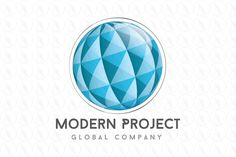 Sphere Modern Project - $350 (negotiable) http://www.stronglogos.com/product/sphere-modern-project #logo #design #sale #software #technology #media