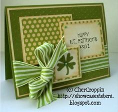 St. Patrick's Day...Stamp: The Angel Co. By:CherCroppin