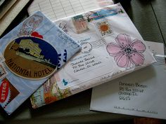 Mail art.I used to   Decorate the envelopes of the letters I sent to Prince Charming!