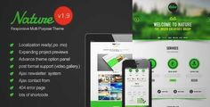Download and review of Nature - Responsive Onepage WordPress Theme, one of the best Themeforest Creatives themes {Download & review at|Review and download at} {|-> }http://best-wordpress-theme.net/nature-responsive-onepage-download-review/