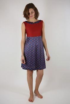 robe rétro rouge €40.00