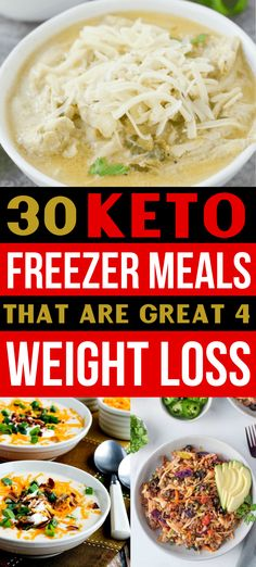 Healthy Freezer Meals, Make Ahead Meals, Easy Meals, Bariatric Recipes, Diet Recipes, Healthy Recipes, Chili Recipes, Dessert Recipes, Keto Meal Plan