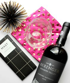 If you must indulge, red wine & dark chocolate are a great choice!