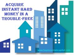 Get High Quality Services with Houston Hard Money Lender  Bay Mountain Capital always believe in satisfying their real estate clients with high-quality service. As a Houston Hard Money Lender, we provide various loan services. http://www.baymountaincapital.com/