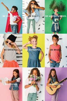 The Wiegands: ainsleigh Kids Fashion Blog, Creative Instagram Photo Ideas, Fashion Banner, Kid Poses, E-mail Marketing, Children Photography, Photography Poses, Photographing Kids, Child Models