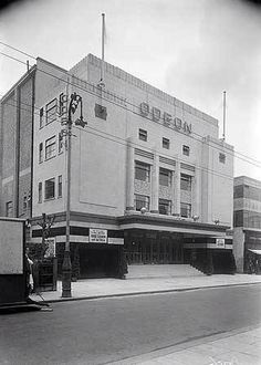Odeon cinema - Wimbledon Broadway Vintage London, Old London, South London, West London, Old Street, Burnley, My Town, Historical Pictures, Wimbledon
