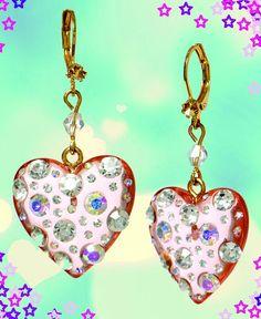 Betsey Johnson earrings...love em