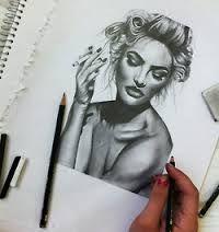 de2d239c3cc33b89fce722fffb85f043--girl-drawings-pen-drawings