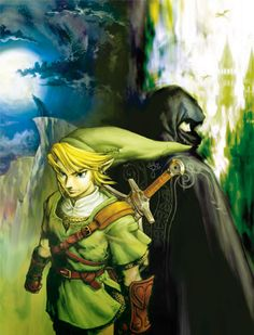 The Legend of Zelda: Twilight Princess - Official art from E3 2005.