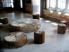 Elizabeth Abernathy: Cardboard Furniture