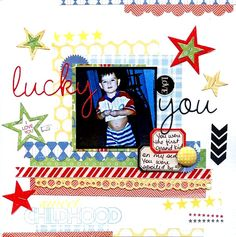September Use Your Supply Challenge-lucky you - Scrapjazz.com