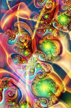 Incredibly Beautiful Fractal Flowers- Fractal art is a type of digital art that's considered new media. Description from pinterest.com. I searched for this on bing.com/images