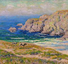"""Henry Moret """" La Baie des Trépassés"""""""