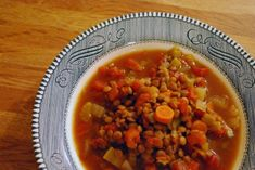 Crock Pot Lentil Vegetable Soup