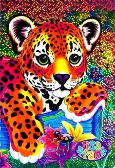 Lisa Frank - Makes me think of my sister. She was a lisa frank club member. 90s Childhood, Childhood Memories, Lisa Frank Folders, Lisa Frank Stickers, Girly Tattoos, To Color, 90s Kids, The Good Old Days, Framed Art