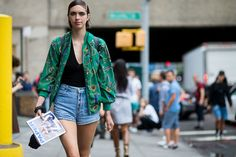 Street-Style New York Fashion Week // Foto © TheUrbanspotter