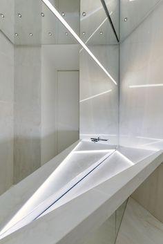 SuperSurfaceSpace Moscow Iris Gallery for Contemporary Design Москва / Russie / 2015 / bathroom Restroom Design, Modern Bathroom Design, Bathroom Interior Design, Bathroom Spa, Bathroom Toilets, Washroom, Sink Design, Bath Design, Bedroom False Ceiling Design