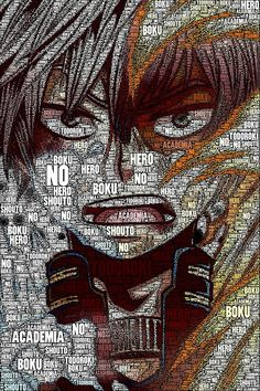 Shouto Todoroki - Boku no Hero Academia | My Hero Academia by QShiro