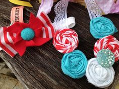 Circus Theme Headband/Necklace set Mommy and me by winkysugar, $40.00