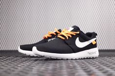 f04fba59d9fc UK Trainers 2018 Unisex Virgil Abloh Off White blanc x Nike Roshe One Black  Noir White blanc Youth Big Boys Shoes