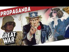 Propaganda During World War 1 - Opening Pandora's Box I THE GREAT WAR Special - YouTube