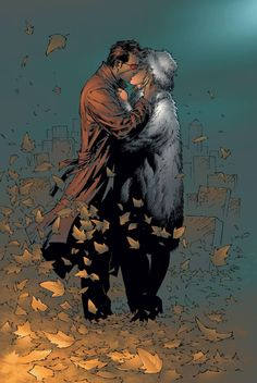 Emma Frost and Scott Summers (Cyclops)