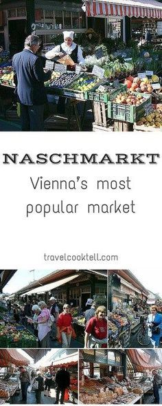 Visit Naschmarkt, the most popular market in Viena, Austria. It is a nice opportunity to have great food and to know a little more about this gorgeous city. European Vacation, European Travel, Oh The Places You'll Go, Places To Travel, Bad Gastein, Hallstatt, Innsbruck, Austria Travel, Budapest