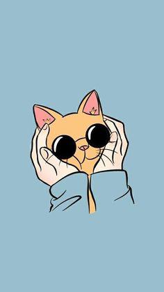 Fondo de gato kawaii wallpaper, wallpaper s, iphone wallpaper cat, cute cat wallpaper Tumblr Wallpaper, Cartoon Wallpaper, Wallpapers Tumblr, Kawaii Wallpaper, Blue Wallpapers, Cute Wallpaper Backgrounds, Cute Cat Wallpaper, Aladdin Wallpaper, Iphone Wallpaper Cat