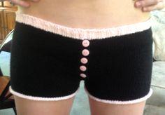 DIY: Cascade, Fixation Knit Boy Shorts ---- #underwear