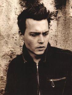 Johonny Depp by Anton Corbijn.