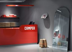 Camper shoe store in Malmö by Note Design Studio