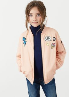 Bomber parches | MANGO KIDS
