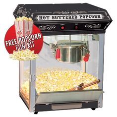 You should see this Countertop Kettle Popcorn Machine in Black on Daily Sales!