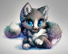 Cat Speed Paint by Kawiku.deviantart.com on @DeviantArt