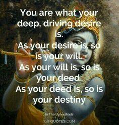 It's you my dear. Krishna Leela, Jai Shree Krishna, Lord Krishna, Krishna Radha, Hanuman, Shiva, Wisdom Quotes, Life Quotes, Hindu Vedas
