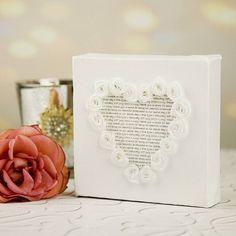 Personalisierte Brautjungfer Leinwand Geschenk-hochzeitsgeschenkidee