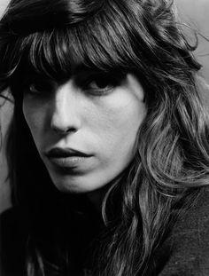 Lou Doillon (1982) - French actress, model, singer. Photo by Patrice Terraz, 2008