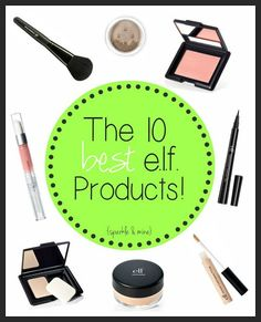 The best e.l.f. products! In case you didn&39;t know e.l.f. is a super affordable makeup brand that has such a huge selection of products it can be a little overwhelming. Blogger not only lists all of her favorites but she also talks about why she loves them so much. This is SO helpful. Pin now- stock up on cheap makeup later!!