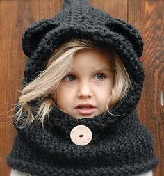 czapka z szalem