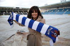 Marie Osmond visits Kilmarnock football club - Daily Record