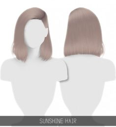 SUNSHINE HAIR by Simpliciaty for The Sims 4 Some sort of perda intensa delaware cabelo The Sims 4 Pc, Sims Four, Sims 4 Cas, My Sims, Sims Cc, Sims 4 Mods Clothes, Sims 4 Clothing, The Sims 4 Cabelos, Pelo Sims