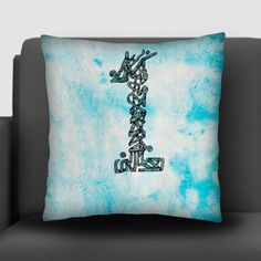 Lucky Number One 1 Cushion Covers | Artist : Harsimran sain | PosterGully