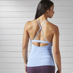 Reebok - Yoga Tank With Built In Sports Bra
