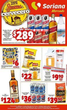 Jueves Cervecero Soriana 19 de Noviembre