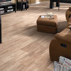 """Reclaimed Belvoir 8"""" x 48"""" x 6mm Laminate Flooring in Hickory Hill"""