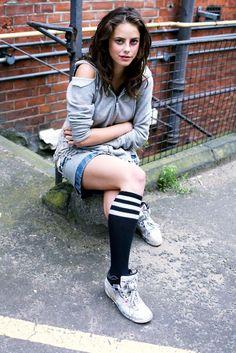 """Kaya Scodelario (Born: Kaya Rose Scodelario - March 13, 1992 - London, Greater London, England, UK) as Effy Stonem on """"Skins"""""""