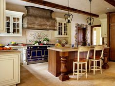 Kitchen and Dining Area With Pendant Lights, Hardwood Floors : Designers' Portfolio : HGTV - Home & Garden Television