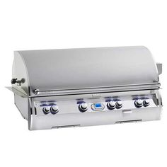 Fire Magic Echelon Diamond 48-Inch Natural Gas Built-In Grill with One Infrared Burner E1060i