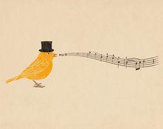 song bird.