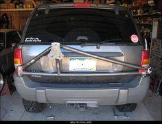 wj spare tire mount - Google Search